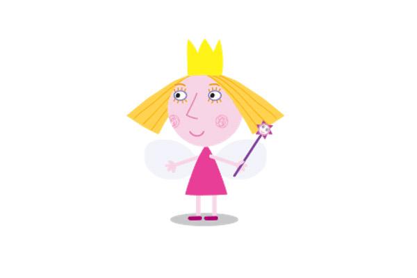 Принцесса Холли из м/ф маленькое королевство